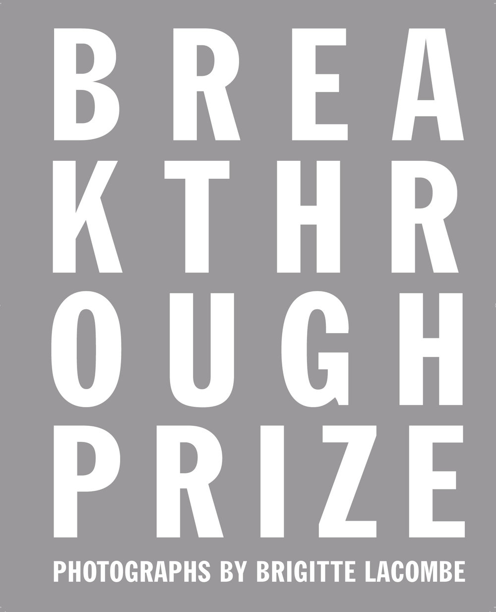 BREAKTHROUGH PRIZE book cover