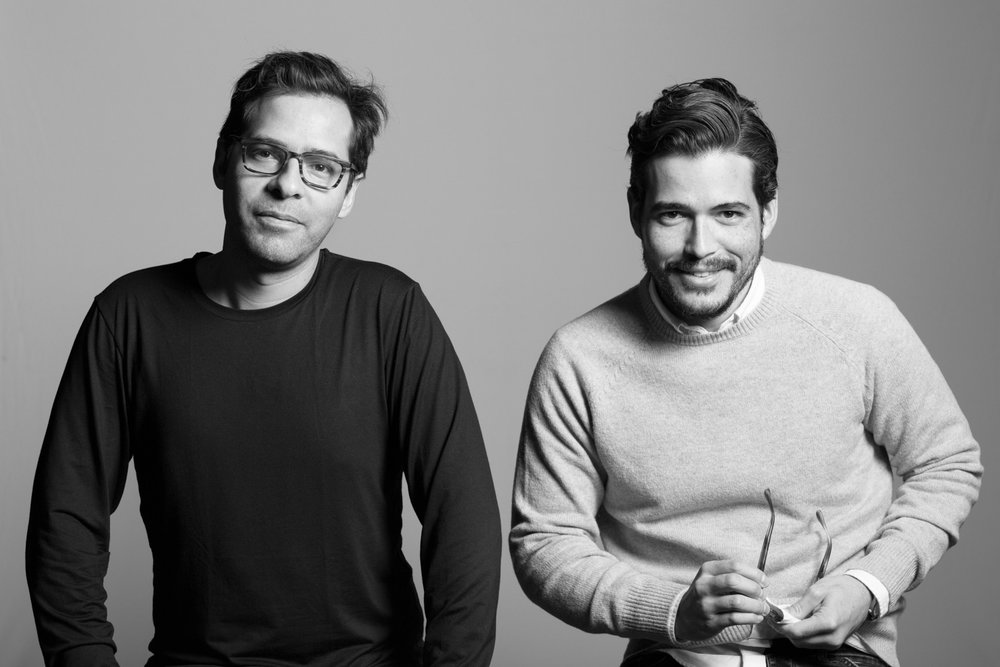 Mateo López, artist, and Jerónimo Duarte-Riascos, MoMA curator