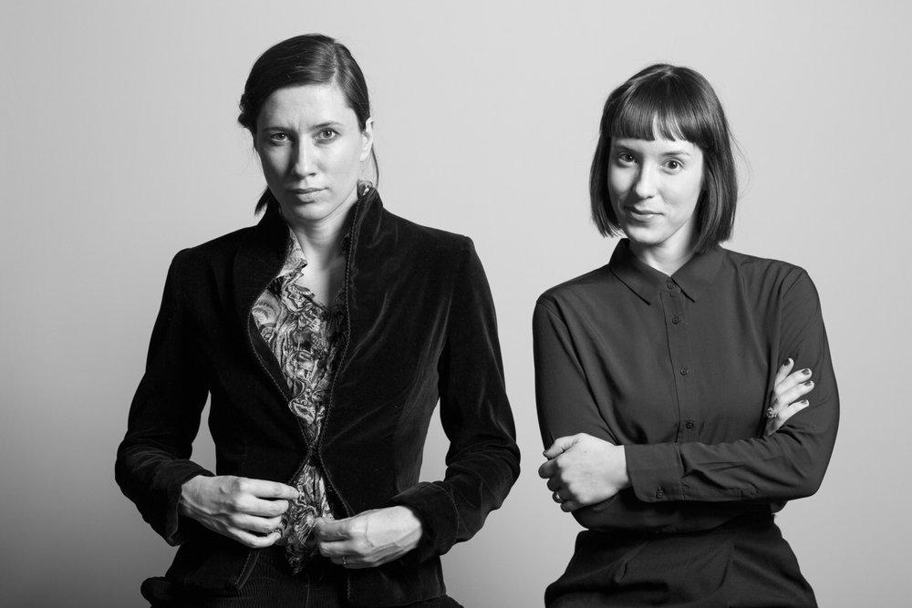 Anna Ostoya, artist, and Ksenia Nouril, MoMA curator