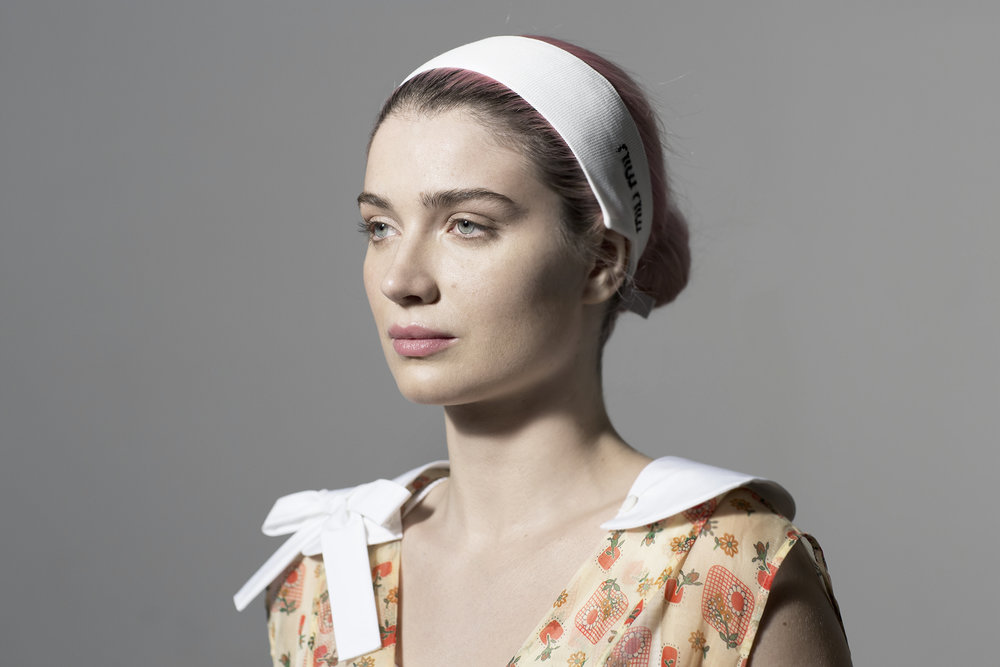 "Eve Hewson, ""Hello Apartment"" directed by Dakota Fanning, Miu Miu Women's Tales #15"