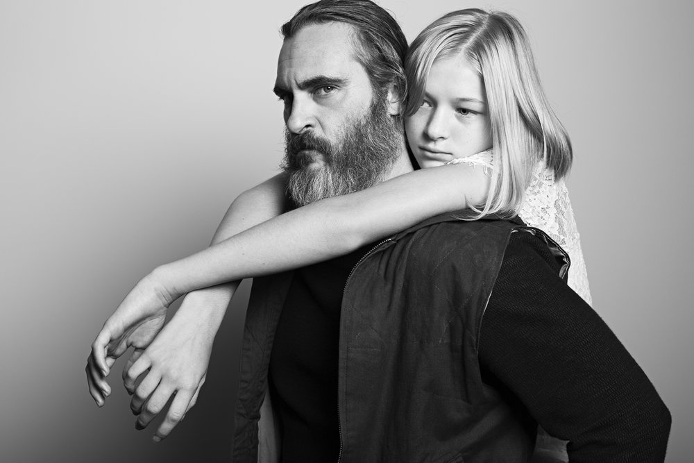 "Joaquin Phoenix and Ekaterina Samsonov, ""You Were Never Really Here"""