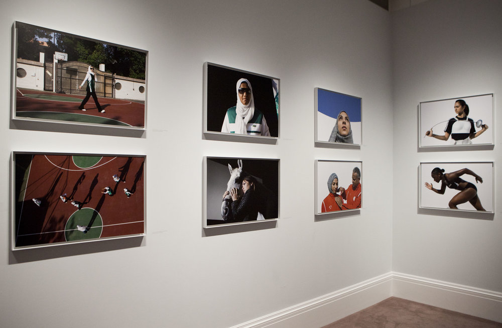 Hey'Ya exhibit, Sotheby's Gallery, London