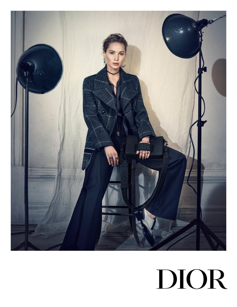 Dior Pre-Fall 2018, Jennifer Lawrence