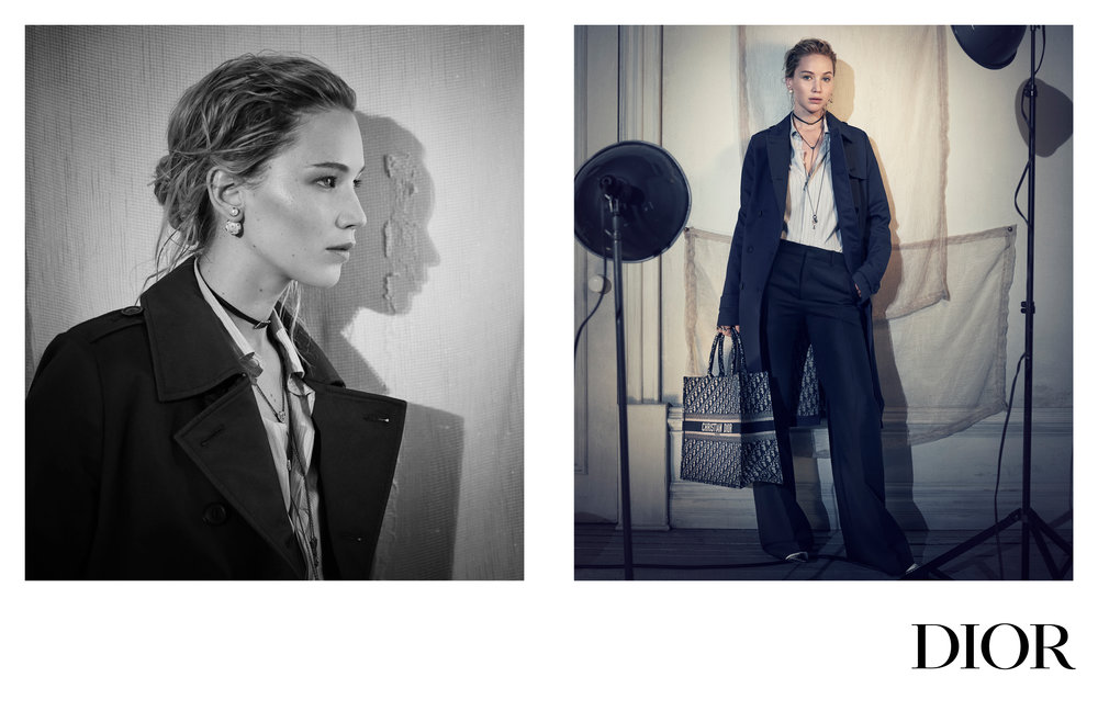 Dior Pre-Fall 2018, Jennifer Lawrence