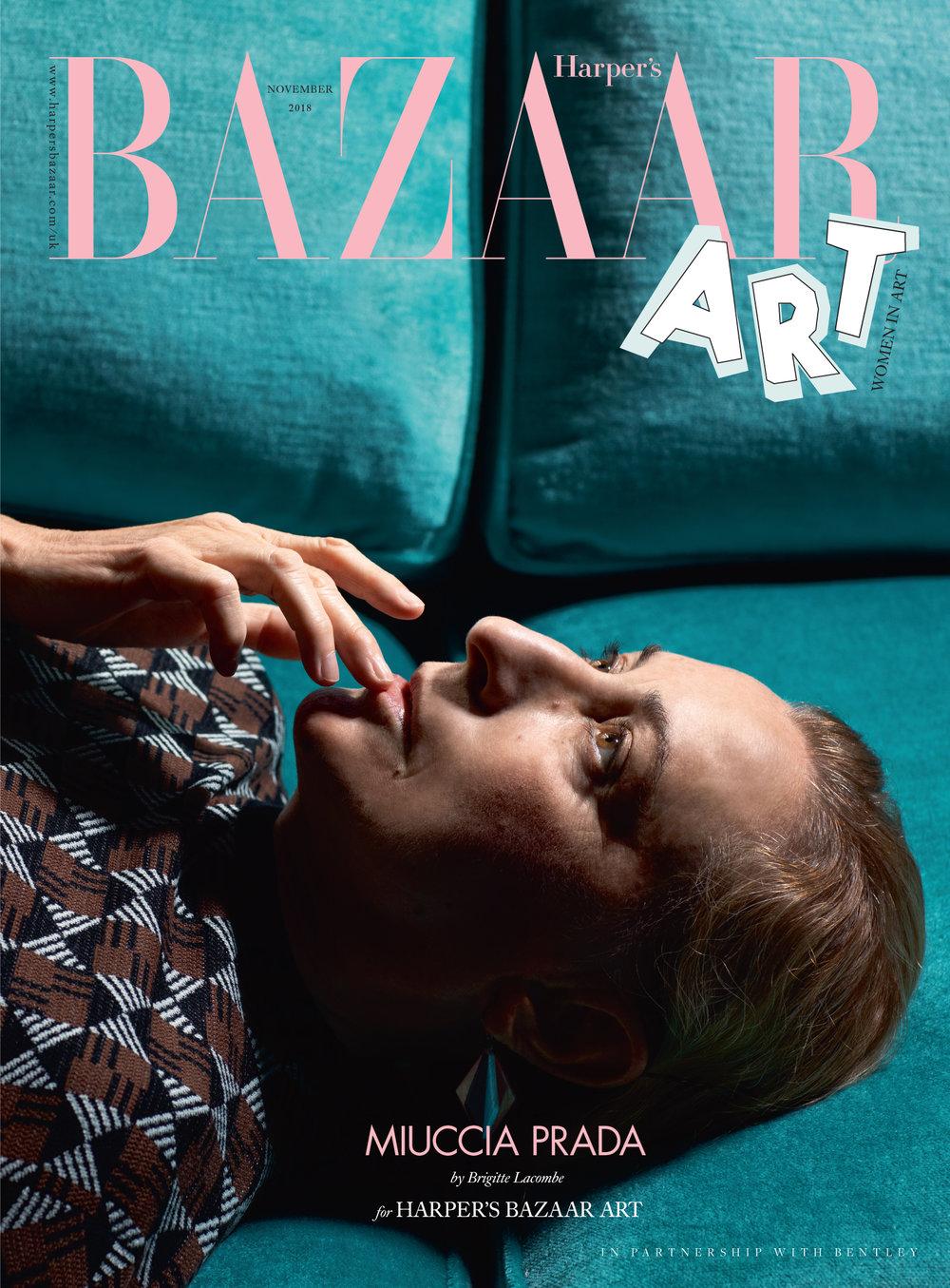 Miuccia Prada, St. Moritz, 2018