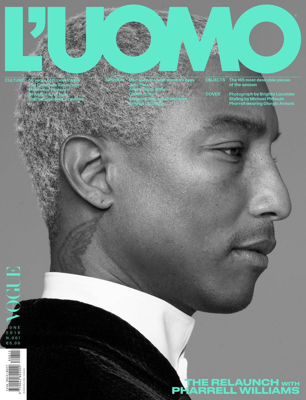Pharrell Williams, Los Angeles, 2018