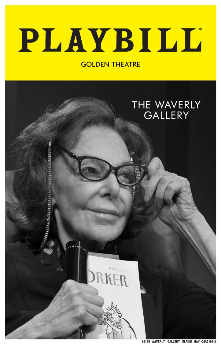 """Waverly Gallery"", Elaine May, New York"