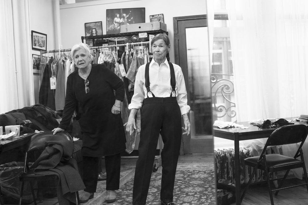 King Lear, Ann Roth and Glenda Jackson, 2019