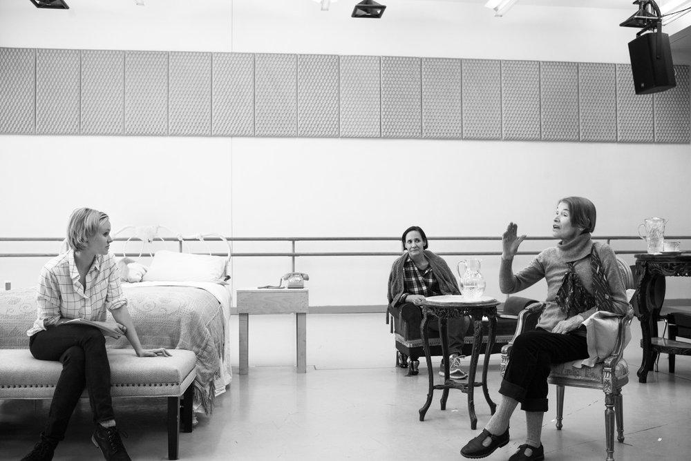 Three Tall Women, Alison Pill, Laurie Metcalf, Glenda Jackson, 2018