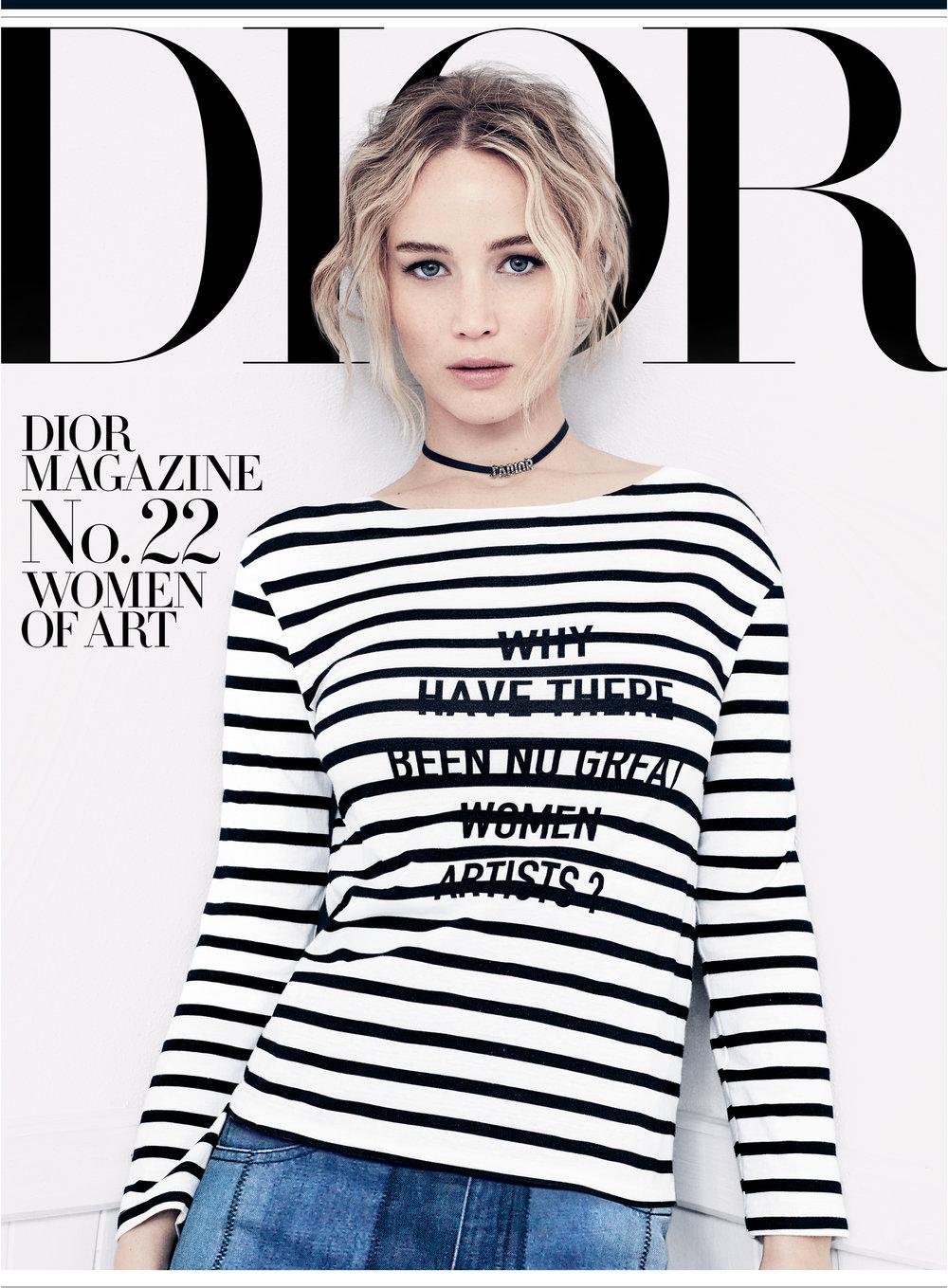 Jennifer Lawrence, Dior Magazine