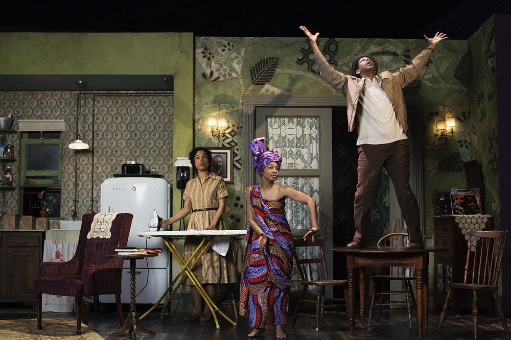 A Raisin in the Sun, Denzel Washington & Cast, 2014