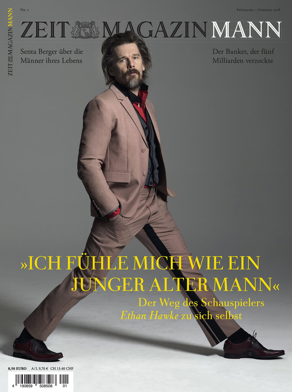 Zeit Magazine, Ethan Hawke, 2018