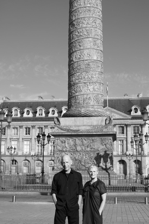 Adrian Joffe and Rose Carrarini, Paris, 2017