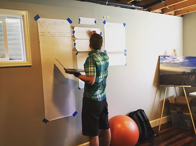 Outlining our next 9 months of ideas and activity. Thanks to @coschedule for some awesome ideas. #storypin #storyband #otherstoriesandstuff