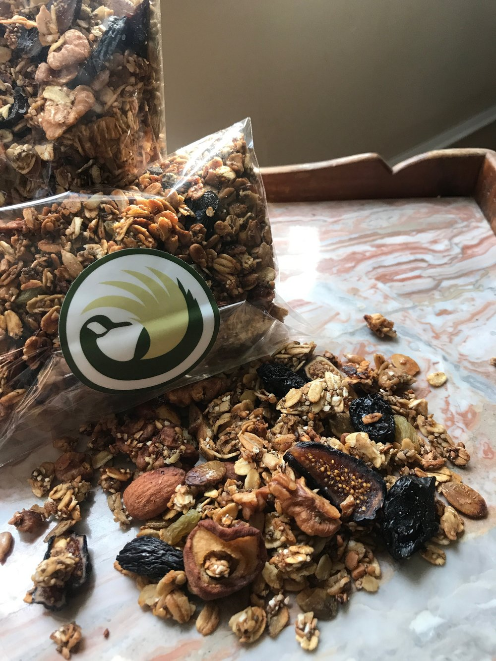 one version of homemade granola