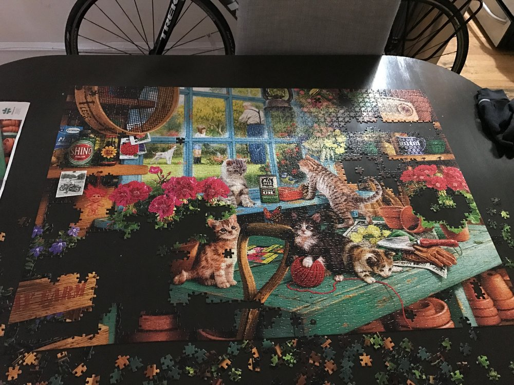 A puzzle that Brandon initiated and left me in the middle of.