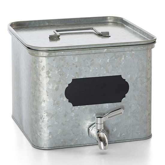 Galvanized Steel Beverage Dispenser