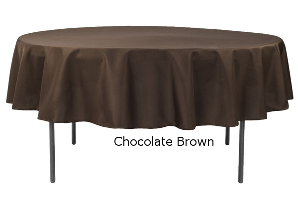 Polyester Round Chocolate Brown.jpg