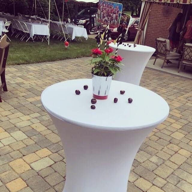 Cocktail Tables and Linens