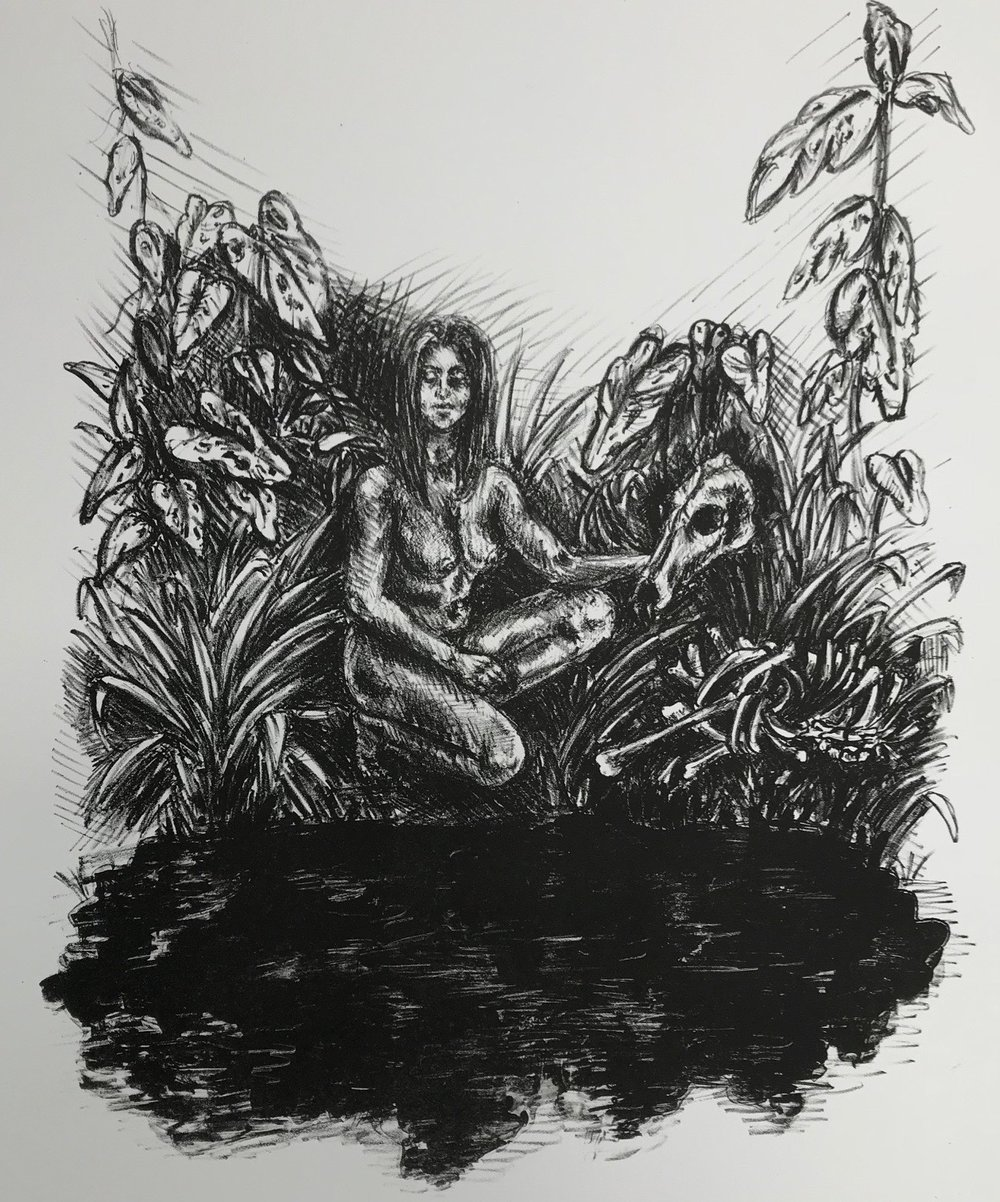 Allie Reed  Stone Lithography