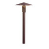 LED Forged Path Light<br>Textured Architectural Bronze<br>$162.80