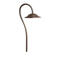 LED Shepherd's Crook <br>Path Light<br>Textured Architectural <br>Bronze - $171.60