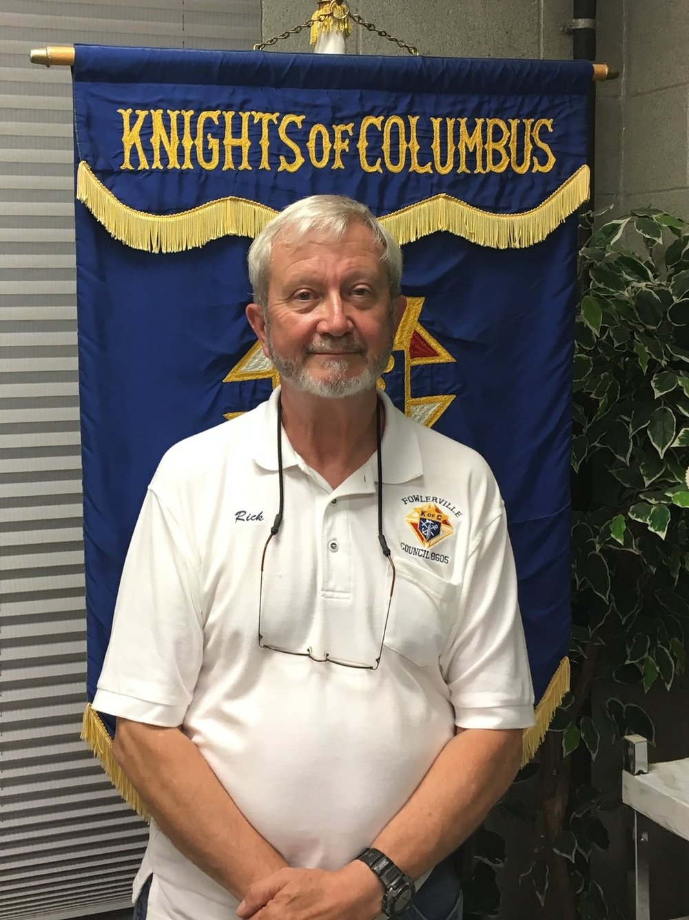 Rick Collins  Grand Knight