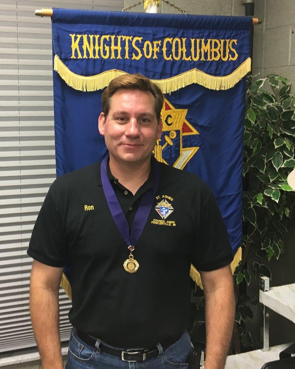 Ron Foldnenauer  Deputy Grand Knight