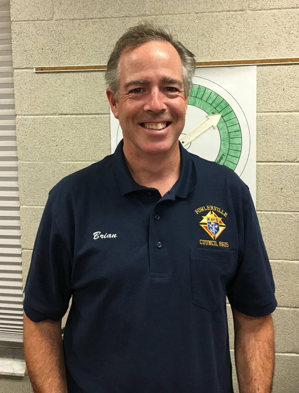 Brian Heslip  Trustee 2nd Year