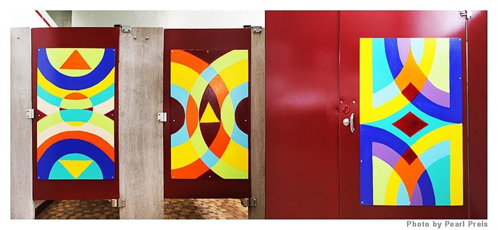 06-07-11-LJHS---The-new-art-intallations-in-the-girls-bathroom-at-LJHS (Medium).JPG