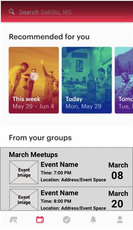 Meetup - User Research, Usability Testing — tritia timmins