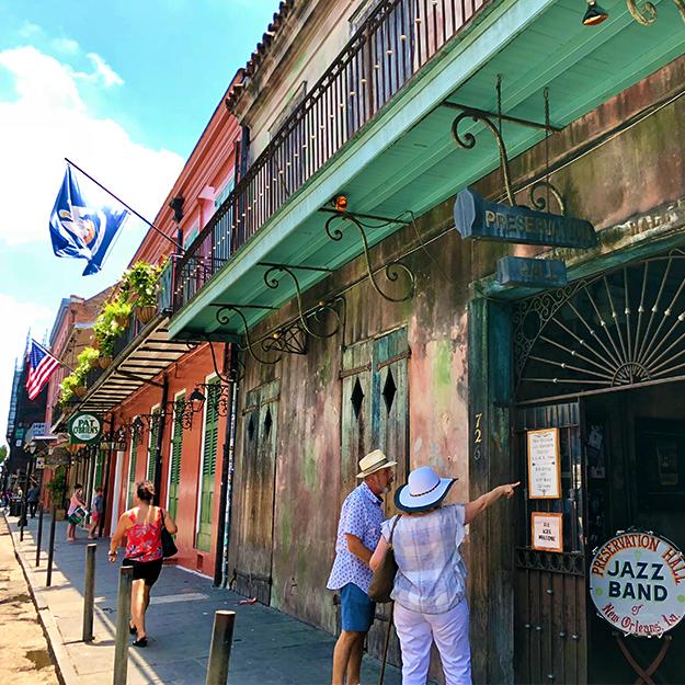 Preservation Hall -  www.preservationhall.com