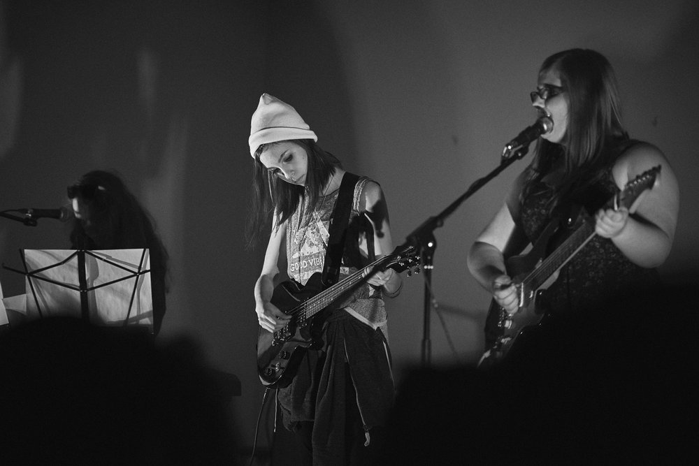 Rock Camp for Girls+ - Rock Camp for Girls+ is an annual weekend-long camp where self-identified girls and those who identify as non-binary aged 13-17 learn an instrument, form a band and perform a song at a music showcase in front of family and friends!