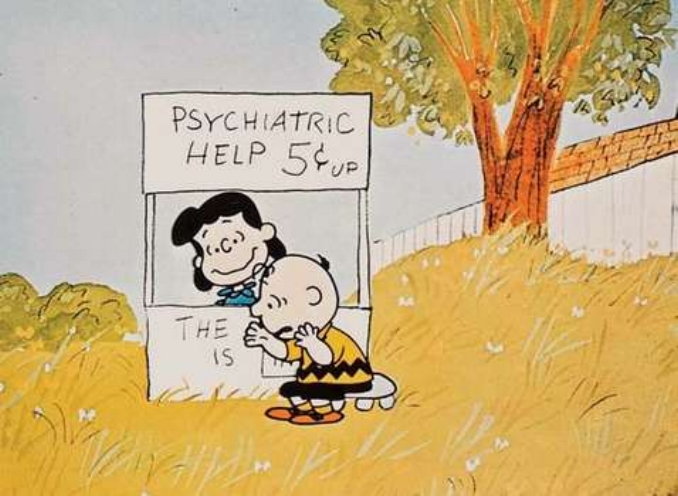 Tell me about that moment of existential dread, Charlie Brown….