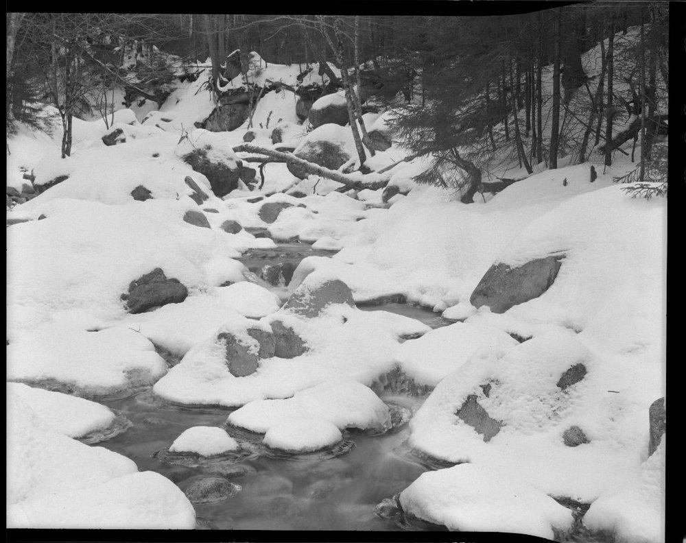 Chamonix 45n-2 4x5 snow by Ray Larose