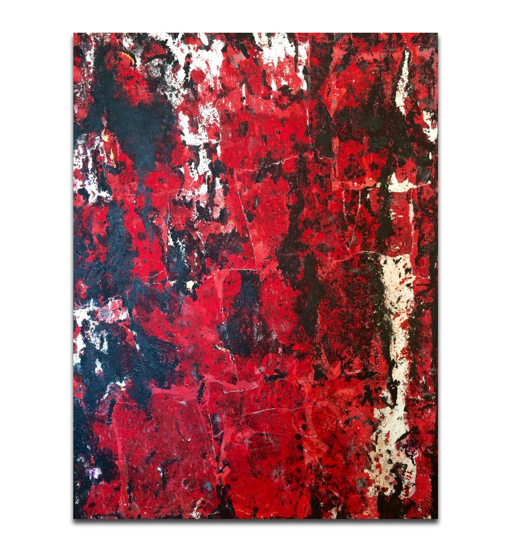 Heartbreaker (sold) 30x40 Acrylic on Canvas