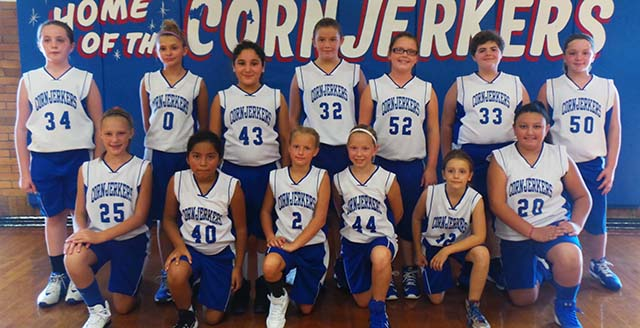 2016- 5th grade basketball team
