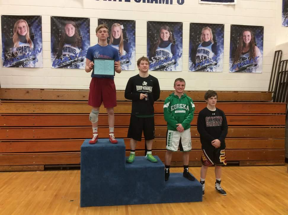 Ezra Elliot- 1st place at Sectionals