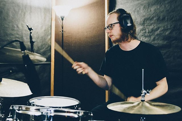 #throwbackthursday to a few weeks ago recording drums for @honest.motions! Excited to start mixing next week 🎚🎛