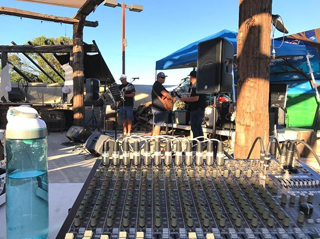 Running a little live sound tonight at The Grizzly Rock in Turlock.