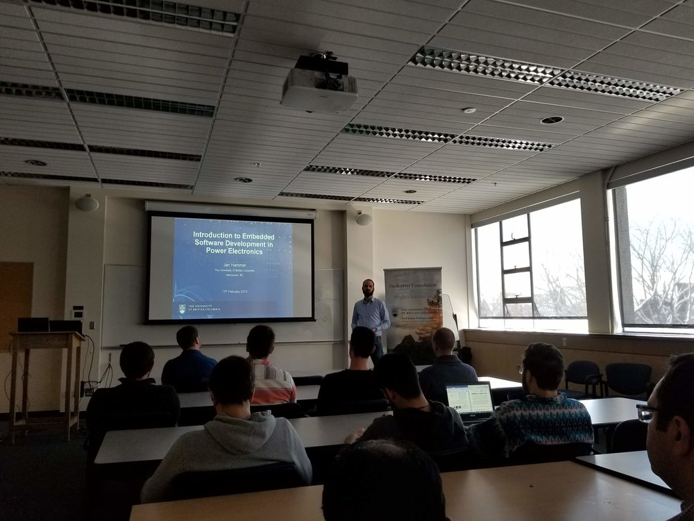 Introduction to Embedded Software Development in Power Electronics  Jan Hammer (University of British Columbia)