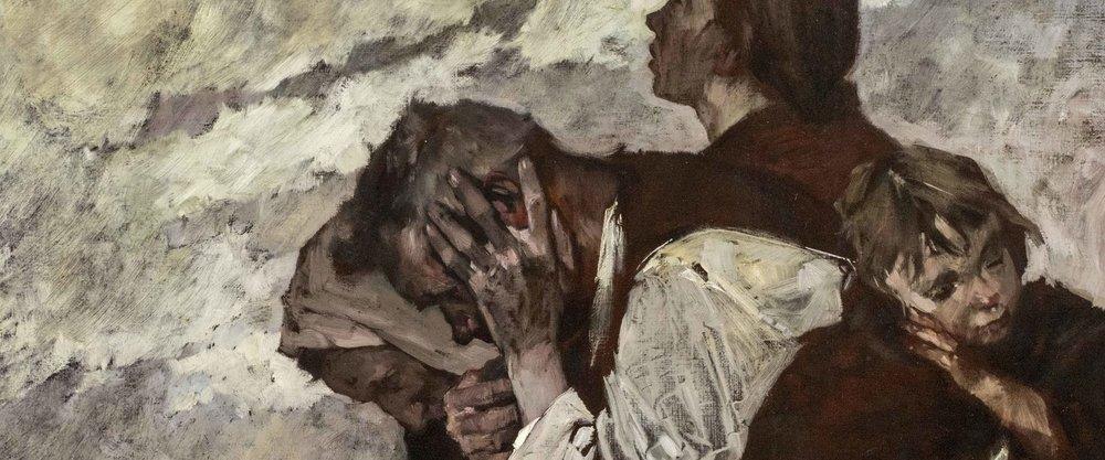 Bert Heller, Refugees, detail image
