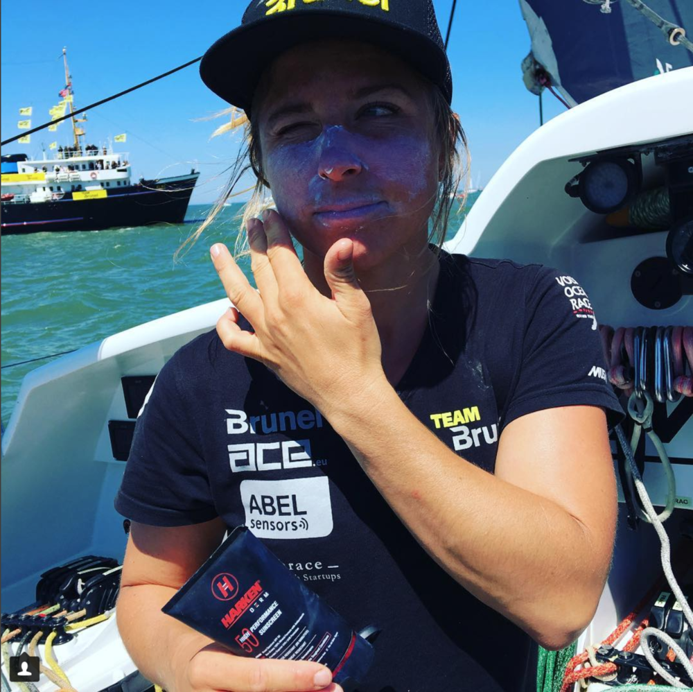 What to take with you to sail around the world?   Harken Derm - Preferred sunscreen of Volvo Ocean RacersOfficial Sponsors of the US Olympic Sailing TeamTop choice for Dermatologists, Skin Cancer Survivors, and Parents WorldwideSee Testimonials