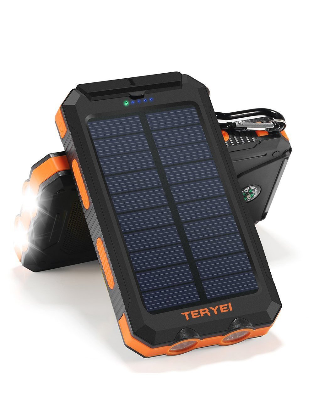 Solar Cell Phone Charger-   - This is another great gift idea especially if your man is adventurous!  This is perfect for camping, hiking, or any adventure because this charger is powered by the sun.  No more worrying about your phone or portable charger dying when you have no outlets nearby.