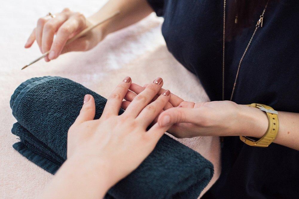 Nail art courses -