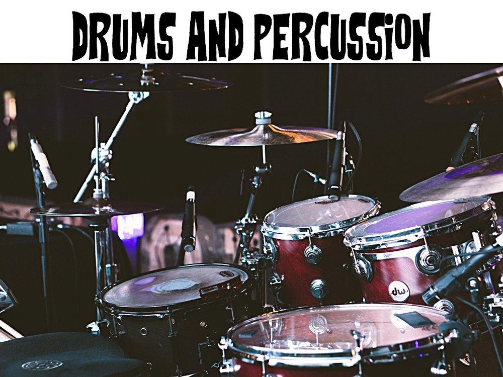 redding music store, Redding Drums