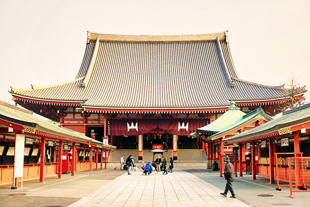 Visit Sensoji Temple on Japan Vacation