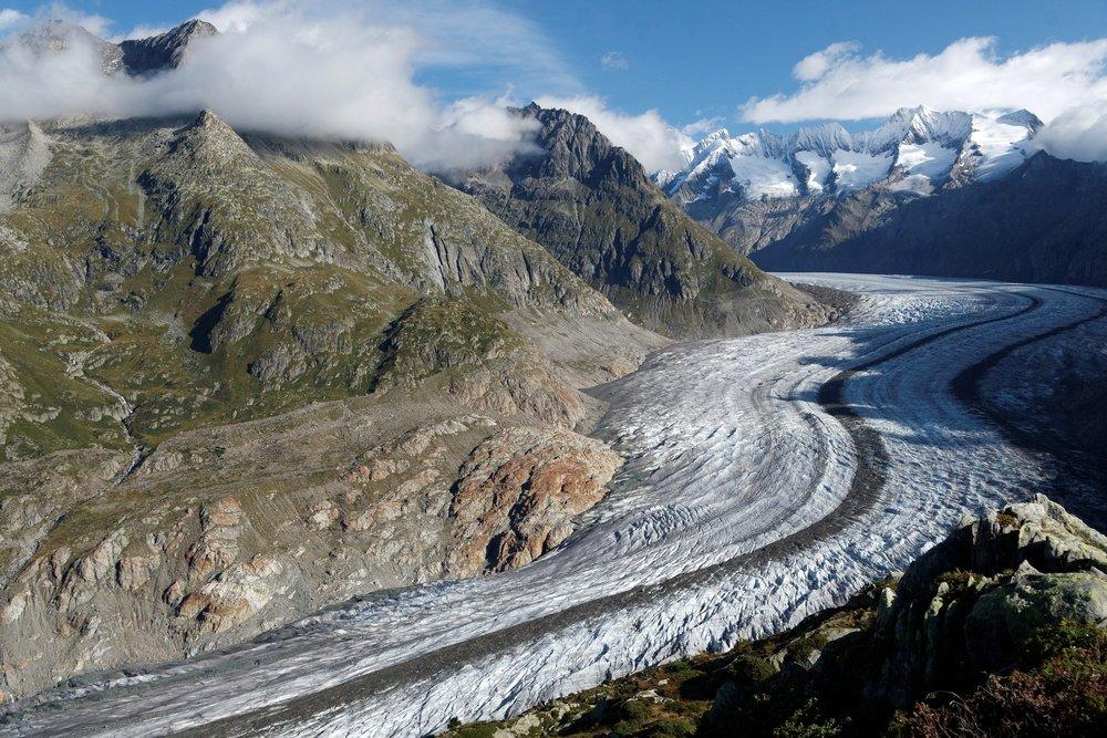 Bernese Oberland Aletsch Glacier