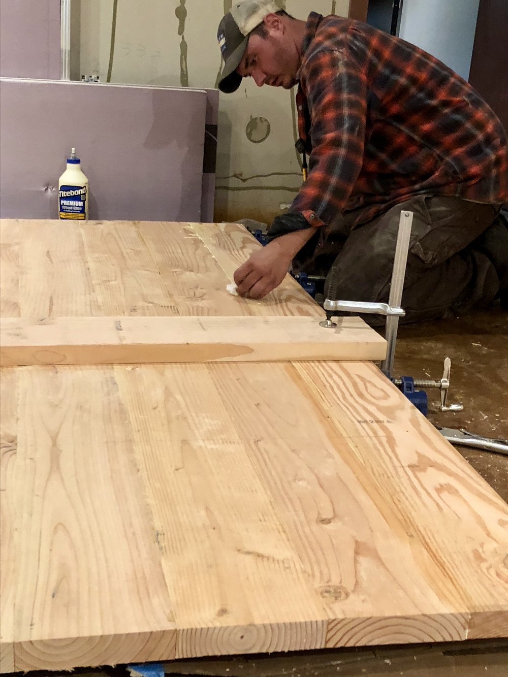 Building Tables for the taproom