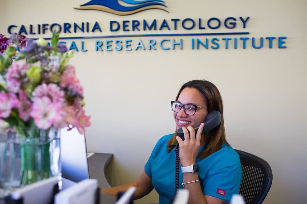 Free Skin Treatment at CDCRI San Diego